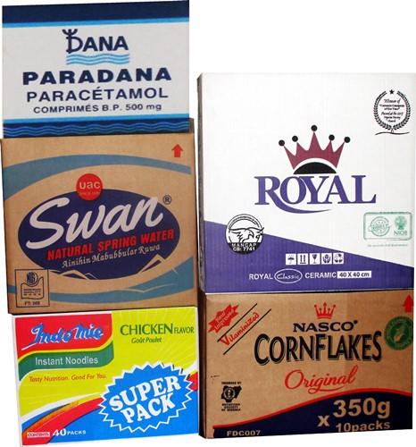 SWAN Water Cartons